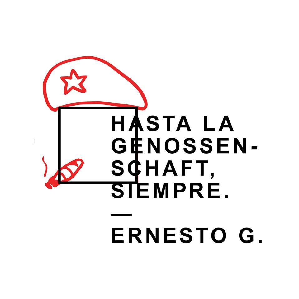Hasta la Genossenschaft, siempre.