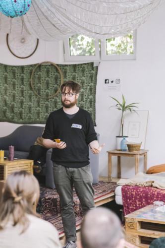 Genosse Arno erzählt von der Crowdfunding-Kampagne