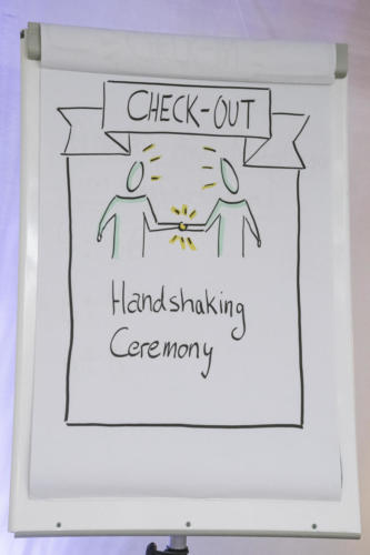 Check Out: Handshaking Ceremony