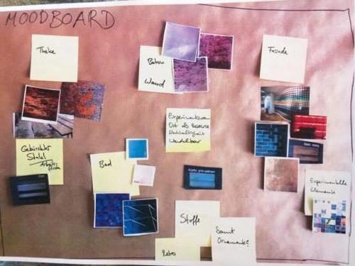Moodboard Gestaltung